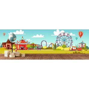 Lunapark - Çocuk Odası ve Kreş Duvar Kağıdı Modeli Uygulama