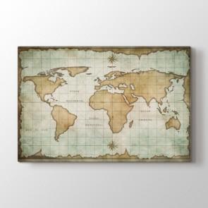 Okyanus Atlası - Ofis Resimli Tablo Modeli