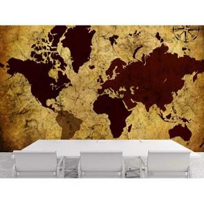 Dünyanın Pusulası - Resimli Duvar Dekorasyonu