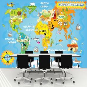 Çocuklar için Dünya Haritası