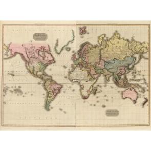 1800'ler Dünya Haritası