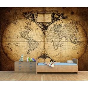 Bin Yedi Yüz Elli İki Dünyası 3 Boyutlu Resimli Duvar Kağıdı