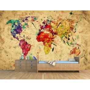 Bir Sanat Eseri Olarak Dünya 3D Duvar Kağıdı