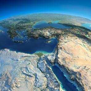 Uzaydan Bakınca Türkiye