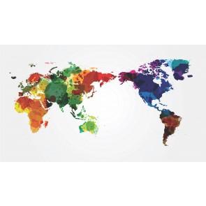 Suluboya Dünya Haritası