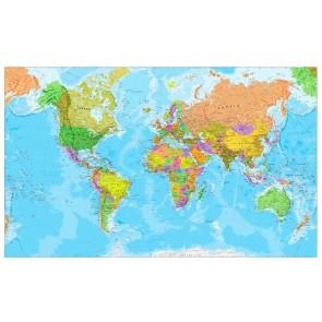 Dekorasyon için Dünya Haritası