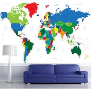 Harita Duvar Kağıdı Dünya Haritası Duvar Kağıtları Duvargiydir