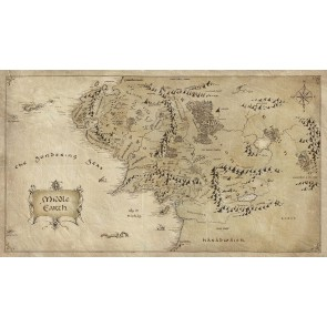 Yüzüklerin Efendisi Haritası