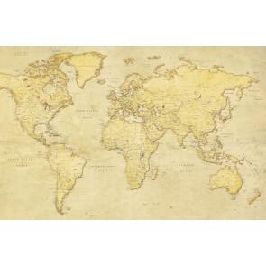 Antik Dünya Haritası Görseli