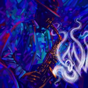 Jazz Temalı Sanat