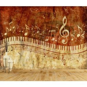 Müzik Aşkı - Müzik Temalı ve Müzik Odası Duvar Kağıdı