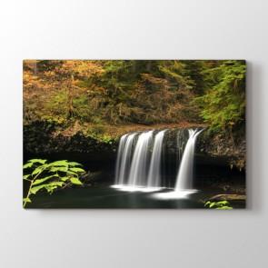 Ormanın Derinlikleri - Doğa Manzara Resimli Tablo Modeli