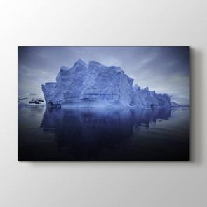 Buz Dağı - Doğa Manzara Kanvas Tablo Modeli