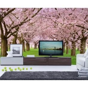 Ağaçlar Çiçek Açtı Duvar Kağıdı Önizleme