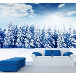 Beyaz Orman Duvar Kağıdı