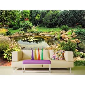 Evimin Bahçesi - Üç Boyutlu Duvar Kağıtları
