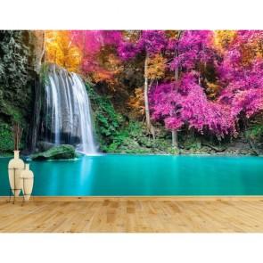 Tayland Ulusal Park Şelalesi 3 Boyutlu Resimli Duvar Kağıdı