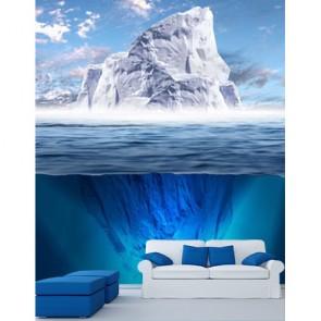 Buz Dağının Görünmeyen Kısmı - Duvar Kağıdı Modeli