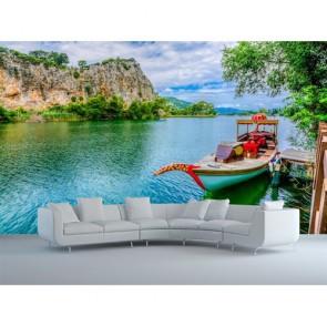 Renkli Göl Turu - Resimli Manzara Duvar Kağıdı Modeli Uygulama