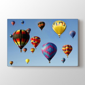 Balon Cümbüşü - Modern Kanvas Tablosu