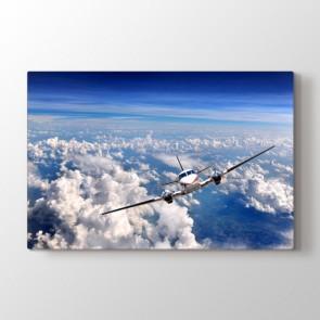 Uçak Selfiesi - Modern Duvar Tablosu Modeli
