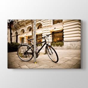 Bisiklet Turu - Modern Resimli Kanvas Tablo Modeli