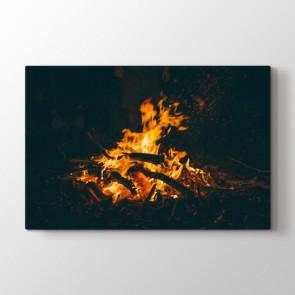Şömine Alevi Tablosu | Ev Dekorasyon Tablo