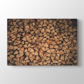 Yaş Odunlar Tablosu | Salon Duvar Tabloları