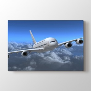Airbus Uçak Modeli Tablosu | Salon Tabloları