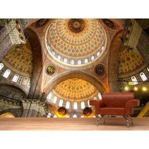 Cami Mimarisi 3 Boyutlu Resimli Duvar Kağıdı