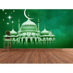 İslamın Rengi 3 Boyutlu Resimli Duvar Kağıdı