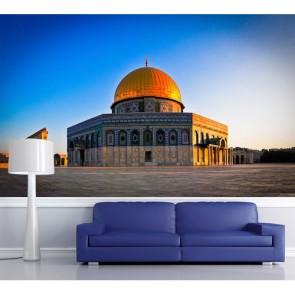 Kudüs 3 Boyutlu Resimli Duvar Kağıdı