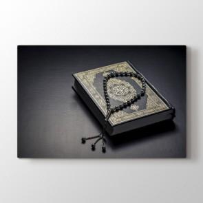 Kuran ve Tesbih Tablosu | Islami Tablo