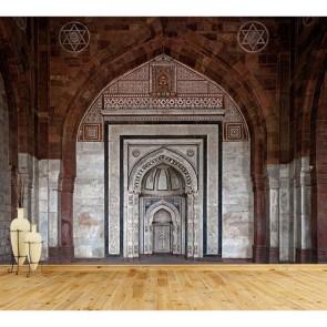 Mihrap ve Cami - 3D Duvar Kağıdı Uygulama
