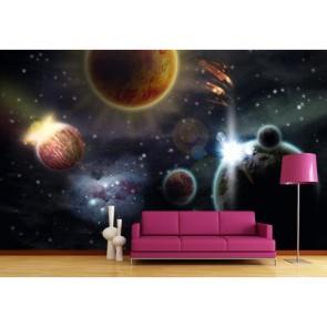 Galaksi Sistemi Duvar Kağıdı