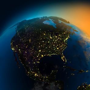 Uzaydan Amerika