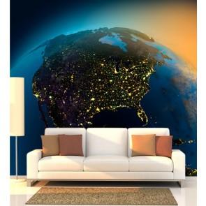Uzaydan Amerika Duvar Kağıdı