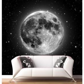 Ay ve Yıldızlar Duvar Kağıdı