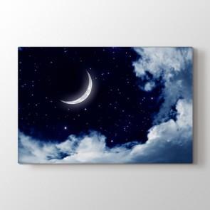 Beyaz Geceler - Modern Kanvas Tablo Modeli