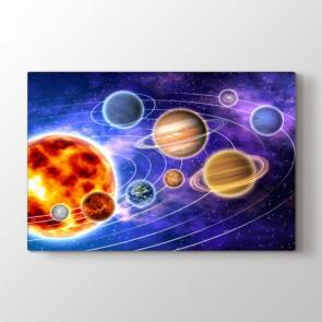 Renkli Galaksi Tablosu | Ders Tablosu