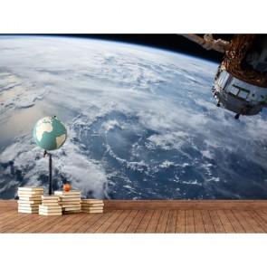 NASA Uygudu ile Dünya Uzay Duvar Kağıdı Modeli