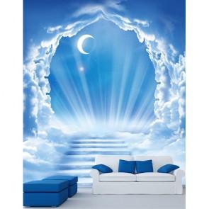 Cennet Kapısı Uzay ve Gökyüzü Duvar Kağıdı Modeli