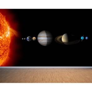 Solar System Uzay ve Gökyüzü 3D Duvar Kağıdı