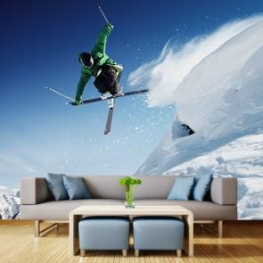 Uçan Kayakçı Duvar Kağıdı