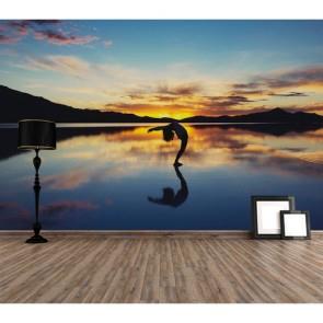 Yoga ve Huzur Spor Duvar Kağıdı Modeli