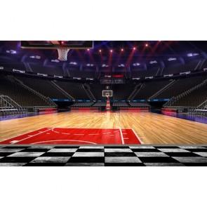 Basketbol Sahası - Spor salonu resimli Duvar Kağıdı Modeli Uygulama