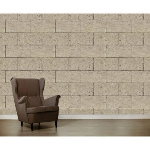 Krem Taş Duvar Duvar Kağıdı
