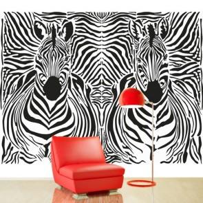 Zebra Çizgileri Duvar Kağıdı