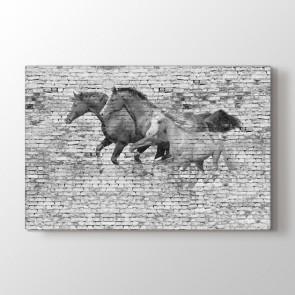 Atlı Duvar Tablosu | At Tabloları