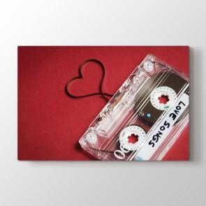 Aşk Şarkısı Tablosu Kanvas Tablo Modeli